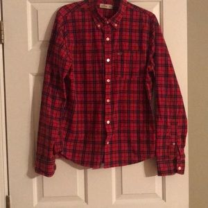 Hollister button down men's shirt